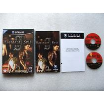 Game Cube: Resident Evil Zero Americano Completo! Raríssimo!
