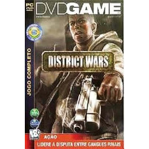 Game - Pc Dvd Rom District Wars - Original Lacrado