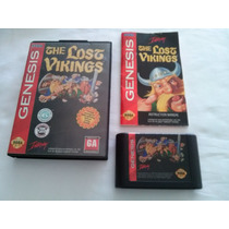 The Lost Vikings Mega Drive Sega Genesis Original Americano