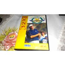Golf Magazine Completo Original P/ Sega 32x