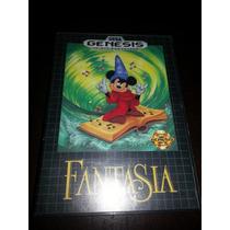 Fantasia Ori. Americano Completo P/ Sega Genesis-mega Drive