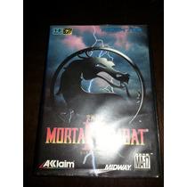 Mortal Kombat 2 Ori. Jap. Comp. P/ Sega Mega Drive-genesis