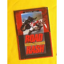 Manual Road Rash 1 - Genesis Ea - Original - 1991