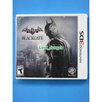 Batman Arkham Origins Blackgate - 3ds - Lacrado - P. Entrega