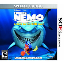 Jogo Finding Nemo Escape To The Big Blue Para Nintendo 3ds