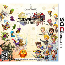 Theatrhythm Final Fantasy - Nintendo 3ds - Novo Lacrado