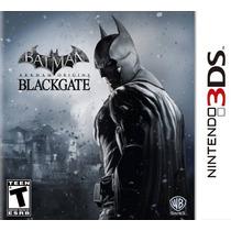 Batman Arkham Origins Blackgate Nintendo 3ds Novo Lacrado