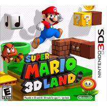 Super Mario 3d Land Nintendo 3ds Pronta Entrega
