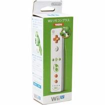 Controle Wii U Remote Motion Plus Edição Especial Yoshi