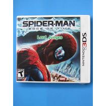Spider-man Edge Of Time - Nintendo 3ds - Lacrado - P Entrega