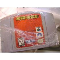 Mission Impossible Original Nintendo 64