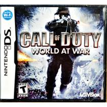 Call Of Duty World At War Original Nintendo Ds L A C R A D O