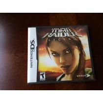 Lara Croft Tomb Raider Legend- Ds E 3 Ds Frete 10,00