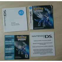 Pokemon Diamond Version Completo Original
