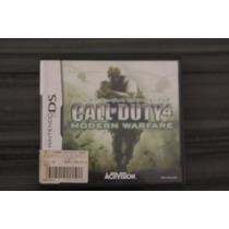 Call Of Duty 4 Original Japonês Nintendo Ds - Frete 8 Reais