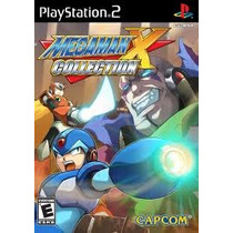 Dvd Ps2 Mega Man X Collection - Lacrado