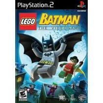 Jogo Ntsc Lego Batman The Videogame Para Playstation 2 Ps2