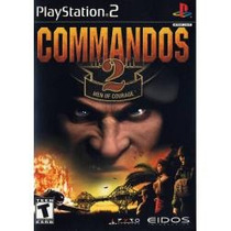 Ps2 Commandos 2 Men Of Courage ( Original )