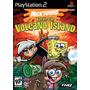 Dvd Ps2 Bod Esponja Nicktoons Battle For Volcano Island