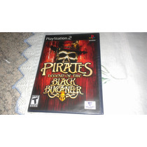 Pirates Black Buccaneer Novo Lacrado Original Playstation 2
