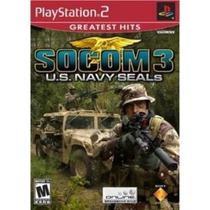 Caixa 100 Jogos Socom 3 U.s. Navy Seals Ps2 Lacrado Atacado