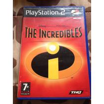 Cd De Play2 Original Os Incríveis