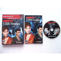 Play 2: Resident Evil Code Veronica X Americano Completo!!