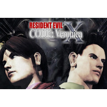 Resident Evil 4 + Code Veronica / 2 Jogos Ps2 - Patch