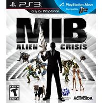 Mib Alien Crisis Men In Black Ps3 Jogo Novo Original Lacrado