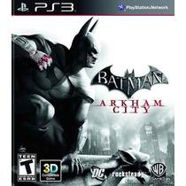 Batman Arkham City Ps3 3d Português Br