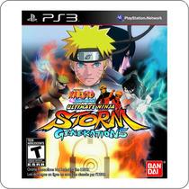 Naruto Ultimate Ninja Storm Generations - Ps3 - Novo Lacrado