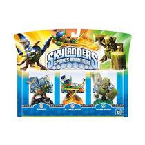 Box Skylanders Spyro`s Adventure Com 3 Personagens Ps3 Wii