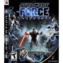 Star Wars The Force Unleashed - Ps3 Original Seminovo!