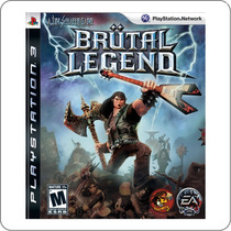Brutal Legend - Ps3 - Playstation 3 - Novo Lacrado