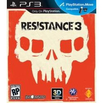 Jogo Exclusivo Sony Ps3 Resistance 3 Compativel Com Move 3d