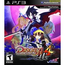 Jogo Disgaea 4 A Promise Unforgotten Pra Playstation 3 Ps3