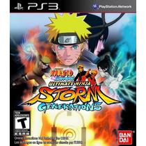 Naruto:ultimate Ninja Storm Generations Jogo Playstation 3