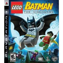 Jogo Lacrado Lego Batman The Videogame Pra Playstation 3 Ps3