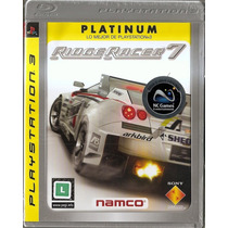 Ridge Racer 7 Estilo Need For Speed Ps3 Original Lacrado