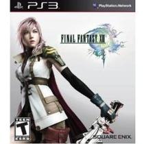 Jogo Semi Novo Final Fantasy Xiii Pra Ps3 Playstation 3