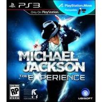 Jogo Pra Ps3 Michael Jackson The Experience Necessario Move