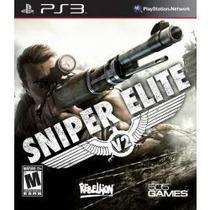 Sniper Elite V2 Jogo Para Playstation 3 Semi Novo