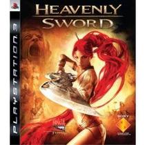 Jogo Americano Lacrado Exclusivo Sony Heavenly Sword Pra Ps3