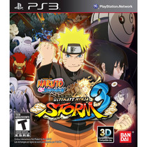 Naruto Ultimate Ninja Storm 3 Ps3 Play3 Português Original