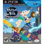 Phineas E Ferb Através Da 2ª Dimensão Ps3 Lacrado Original