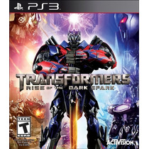 Jogo Novo Transformers Rise Of The Dark Spark Para Ps3