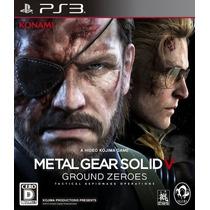 Metal Gear V Ground Zeroes Ps3 - Legendas Pt-br - Código Psn