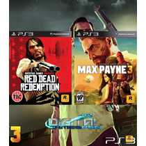 Max Payne 3 + Red Dead Redemption Ps3 Código Psn