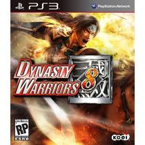 Dynasty Warriors 8 - Jogo Playstation 3 - Semi Novo