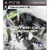 Tom Clancys Splinter Cell Blacklist Em Português Ps3